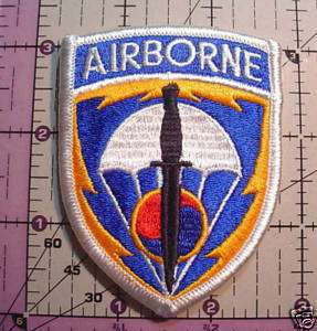 AIRBORNE SPECIAL OPERATIONS COMMAND KOREA COLOR PATCH