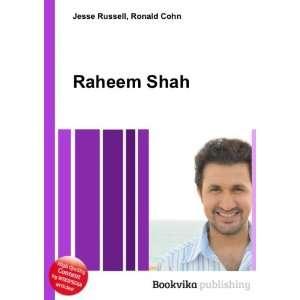 Raheem Shah: Ronald Cohn Jesse Russell: Books