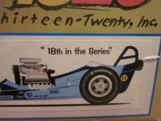 CREITZ & DONOVAN 124 Scale Die Cast Dragster Vintage Race Car