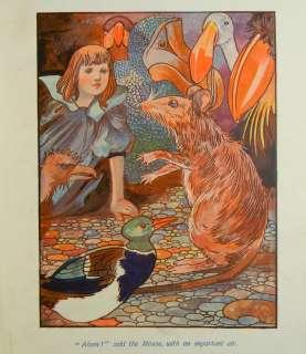 ALICE IN WONDERLAND Alices Adventures LEWIS CARROLL Antique Child