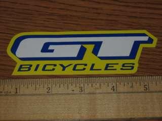 GT BIKES BIKE BICYCLES FRAME CAR Road Tri STICKER DECAL