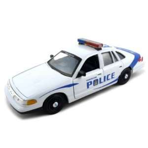 Ford Crown Victoria Vancouver Police Car 124 Diecast