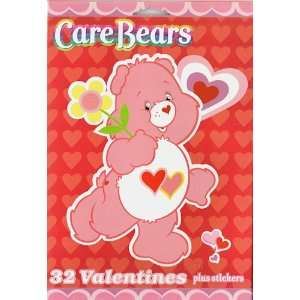 Care Bears Valentines Day Cards 32 Count Box Toys & Games