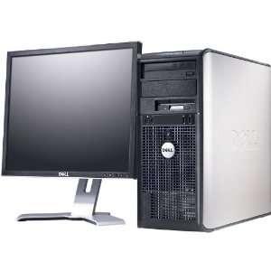 Dell Optiplex 755 Core 2 Duo 2 0 Ghz 1GB 80GB DVD 17 LCD