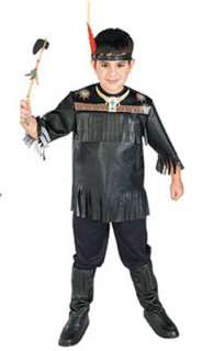 Indian Boy Native American Dress up Costume NIP S 4 6