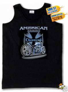 American Original Choppers Biker Muscle T Shirt 30%off