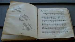 Le Coq, French Scout Song Book, 1935, Interesting