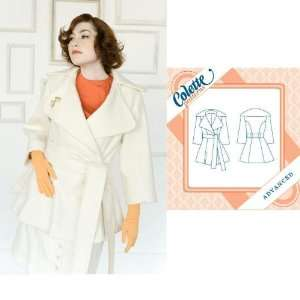 Colette Lady Grey Coat Pattern By The Each Arts, Crafts