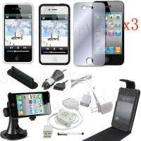 12 ACCESSORY CASE CHARGER CABLE FOR APPLE IPHONE 4 4G