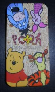 Apple iPhone 4G/ iPhone 4S Disney Winnie the Pooh & Friends Silicone