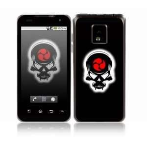 Samurai Death Skull Design Decorative Skin Cover Decal Sticker for LG