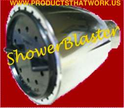 SHOWER BLASTER THE REAL HIGH PRESSURE SHOWER HEAD 12.5GPM™ POWERFUL