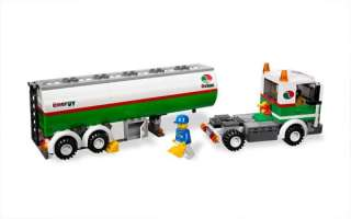 LEGO CITY 3180 TANK TRUCK, RETIRED SET, SOLD OUT IN STORES, NIB, GREAT