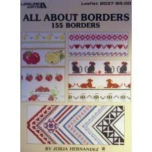 All about borders: 155 borders: Jorja Hernandez: Books