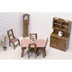 The Dining Room Doll House Furniture Kit Corona Concepts