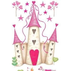 princess castle bliss mural