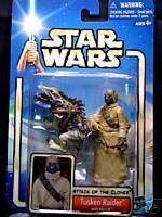 Star Wars Saga Tusken Raider w/Massiff Action figure