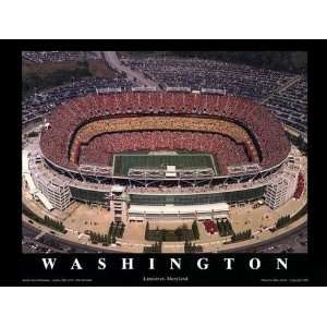 FedEx Field Stadium Poster Print Washington Redskins