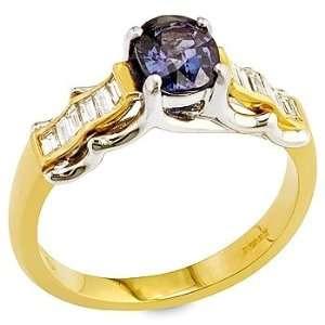 garnet ,white diamond and yellow gold ring. Vanna Weinberg Jewelry
