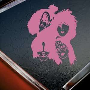 KISS Pink Decal Band Rock Band Car Truck Window Pink