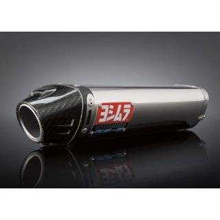 07 08 KAWASAKI ZX6R YOSHIMURA RS 5 SLIP ON EXHAUST   STAINLESS STEEL
