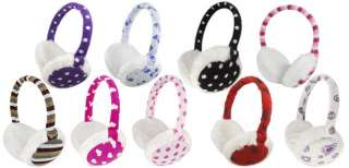 Fashion Fluffy Soft Pad Cover Ear Muffs Warmer 9 Style Available New