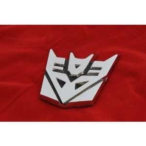 Transformers Decepticon 3D Car Chrome Emblem Small