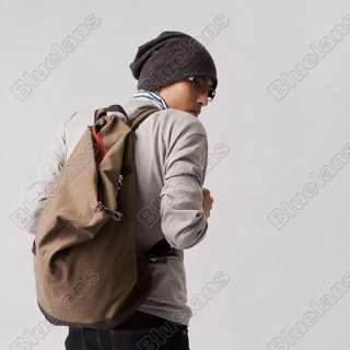 Korean Mens Travelling Shoulder Bag Canvas Bags Leisure Large Capacity