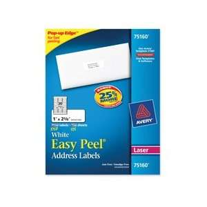 Consumer Products Products   Address Labels, Laser, 30 Labels P/Sheet