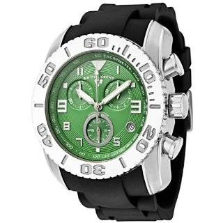 Swiss Legend Mens 20065 013B Commander Collection Chronograph Neon