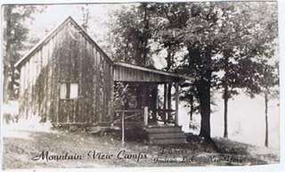 Mountain View Camps, Indian Lake, NY, Real Photo PC