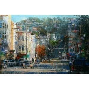 Haight Ashbury Hills by Mark Lague, 36x24
