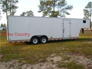 NEW 8.5x32 8.5 x 32 Enclosed Gooseneck Cargo Trailer