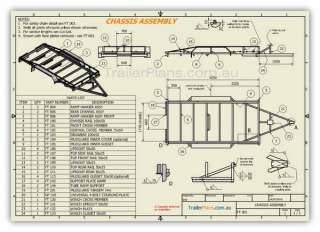 DIY Heavy Duty Tandem Flatbed CAR CARRIER Trailer Plans