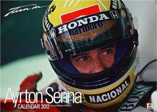 AYRTON SENNA Calendar 2012 F1 Formula1 Mclaren Honda Williams Renault