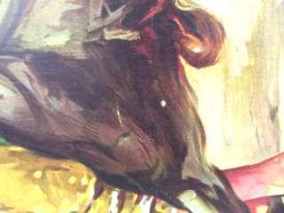 Vintage Paco Camino Plaza Toros de Toledo Bullfight Poster w/ Custom