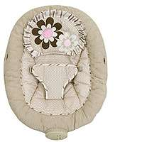 GABRIELLA BABY TREND BOUNCER (Bouncy Seat)   Pink/Tan Flowers