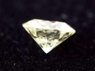 29 ct loose Round Brilliant Cut light yellow Diamond VS1