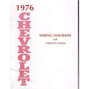 1976 chevrolet belaire caprice impala wiring diagrams