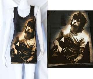 Keith Richards ROCK ROLL UK POP ART Indie WOMEN T SHIRT DRESS Tank TOP
