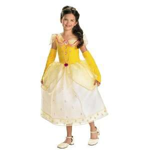 Disney Princess Jewels Belle Costume Size 4 6 Toys & Games