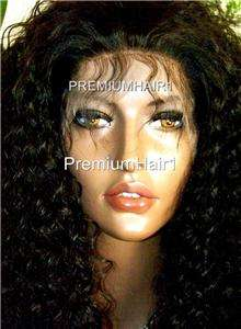 WILD FULL LACE HUMAN HAIR INDIAN REMI REMY CURLY 20 #1