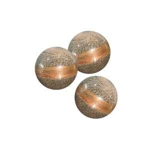 Dale Tiffany PG60058 Granite Decorative Glass Balls 3 Piece Set, 3 1/4