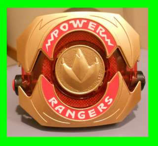 Mighty Morphin Power Rangers Gold Morpher w/ Dragon Coin prop