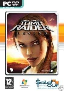 Tomb Raider Legend NEW sealed PC GAME vista & XP