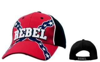 CONFEDERATE REBEL FLAG DIXIE REDNECK HAT BALLCAP CAP