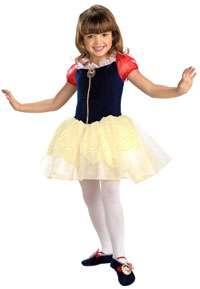 DISNEY Snow White Ballerina Child Costume 3T 4T