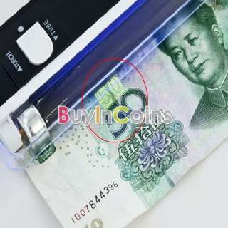 In 1 UV Black Light Handheld Torch Portable Fake Money ID Detector