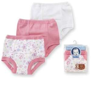 Gerber Girls Pink Cotton Potty Training Pants All Sizes 047213334454