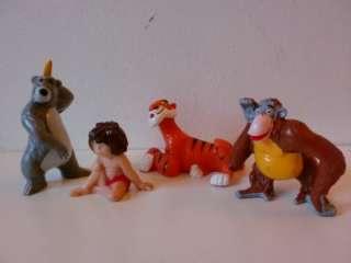 Disney Jungle Book Bullyland PVC Toy Figures Mowgli Baloo